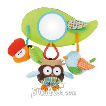 SkipHop stroller bar activity toy treetop friends