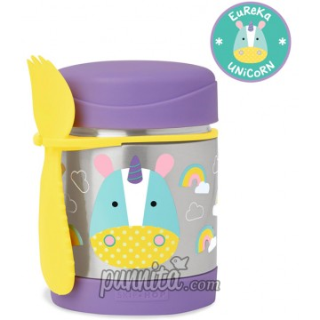 Skip Hop Zoo Insulated Food Jar -Unicorn