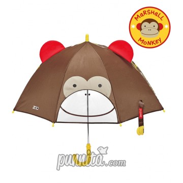 Skip Hop Zoo Brella Little Kid Umbrella - Monkey