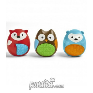 SKIP HOP Explore and more Egg Shaker trio 3pcs