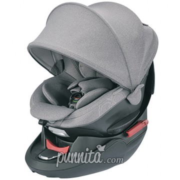 AILEBEBE คาร์ซีท Kurutto 4s (seatbelt)Premium-Gray