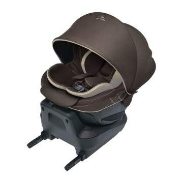 AILEBEBEคาร์ซีท Kurutto 4i Grance (isofix) - Brown