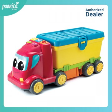 B kids 3 in-1 Busy Builder fun sounds truck
