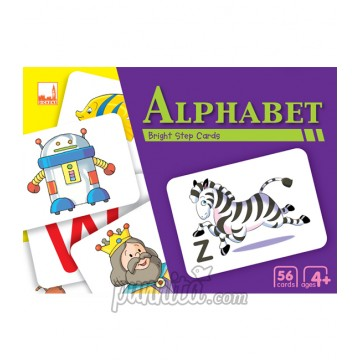 PELANGI Bright step cards - Alphabet