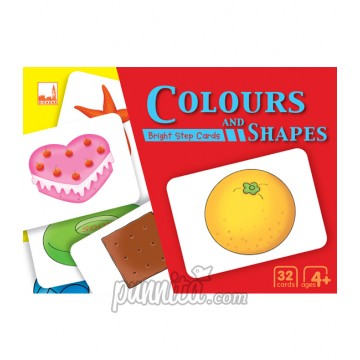PELANGI Bright step cards - Colours and Shapes