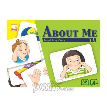 PELANGI Bright step cards - About Me