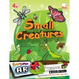 PELANGI FlashCards 3มิติ AR-   Small Creatures