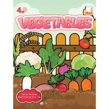 PELANGI FlashCards 3มิติ AR - Vegetables