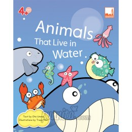 PELANGI FlashCards 3มิติ AR, -  Animals That Live in Water