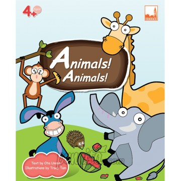 PELANGI FlashCards 3มิติ AR, - Animals Animals