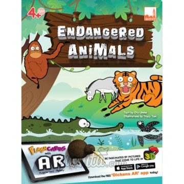 PELANGI FlashCards 3มิติ AR -  Endangered Animals