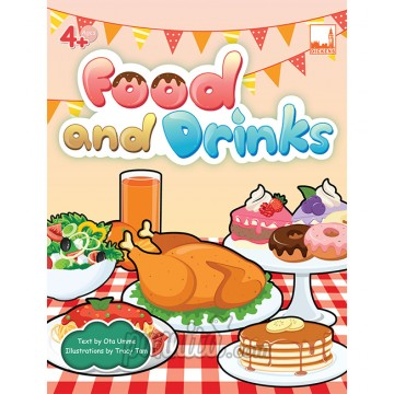 PELANGI FlashCards 3มิติ AR, - Food and Drinks