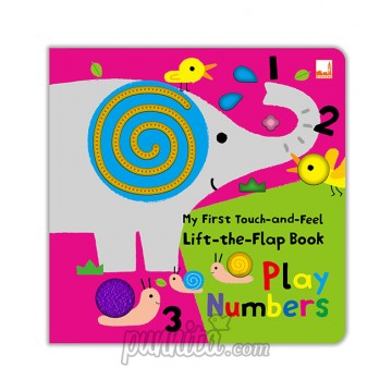 My First Touch and Feel Lift the Flap Book - Play Numbers