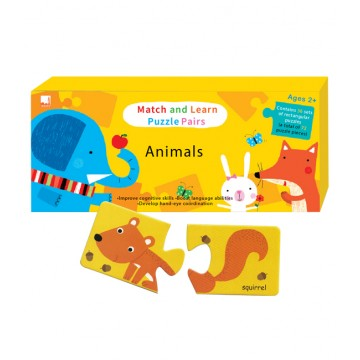 PELANGI  Match and Learn Puzzle Pairs -  Animal