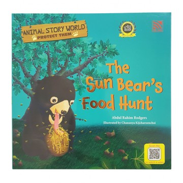 PELANGI  หนังสือชุด Animal Story world - The Sun Bear's Food Hunt