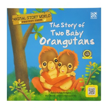 PELANGI หนังสือชุด Animal Story world - The Story of Two Baby Orangutans