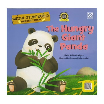 PELANGI หนังสือชุด Animal Story world - The Hungry Giant Panda