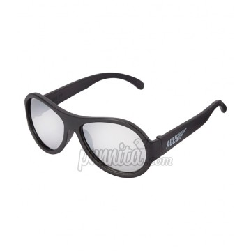 BABIATORS ACES AVIGATORS แว่นตากันแดด BLACK OPS BLACK MIRRORED LENSES 7-14 ปี