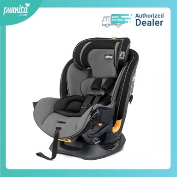 Chicco คาร์ซีท Fit4 4-In1Convertible Car Seat - Onyx