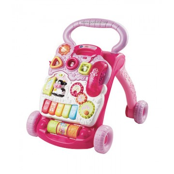 Vtech รถผลักเดิน sit to stand learning walker-Pink