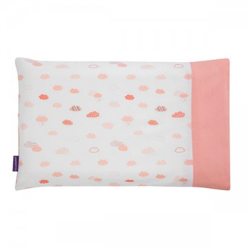 Clevamama ClevaFoam® Toddler Pillow Case – Coral ปลอกหมอน 12m+