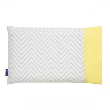 Clevamama ClevaFoam® Toddler Pillow Case – Grey ปลอกหมอน 12m+