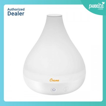 Crane Personal Cool Mist Humidifier& Aroma Diffuser-White เครื่องพ่นอโรมา และเครื่องเพิ่มความชื้น 2-in-1 แบบ Personal