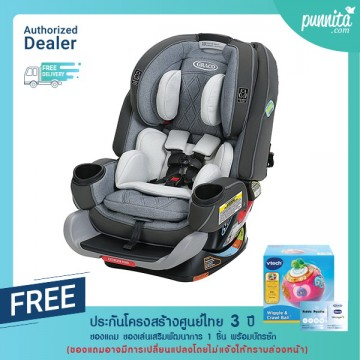 Graco คาร์ซีท 4Ever® Extend2Fit® Platinum 4-in-1 Car Seat สี Hayden