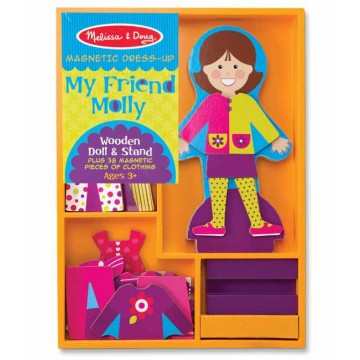 JBM5160 My Frend Molly Magnetic Dress Up
