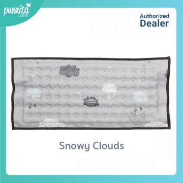 Hi Jell-O Cooling Pillow หมอนติดแอร์ - ลาย Snowy Clouds