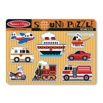 Melissa and Doug See-inside Peg Puzzles - ตัวเลข