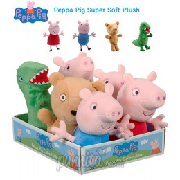 Peppa Pig ตุ๊กตา Super Soft Plus Collection