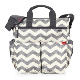 SKIP HOP DUO SIGNATURE  BAG CHEVRON