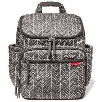 Skip Hop Forma Backpack Diaper Bag - Gray Feather