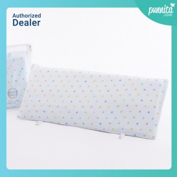 Iflin My sweet dreams Bamboo BABY Pillow ลาย Playful Blue