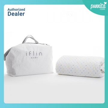 Iflin ผ้าห่ม My Cozy Bamboo Blanket (Single Duvet) - Stars