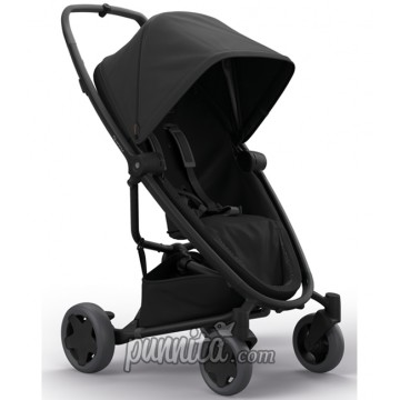 Quinny Zapp flex plus black on black Stroller