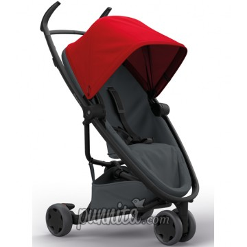 Quinny Zapp flex Red on Graphite Stroller