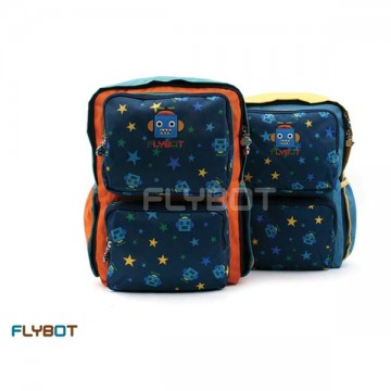 FL0156 กระเป๋า Flybot Sqace Backpack